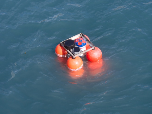 Testing the instruments during the deployment in Seward